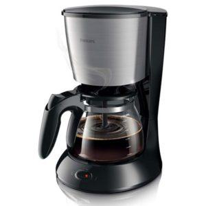 Philips Kahvinkeitin Musta/Metalli