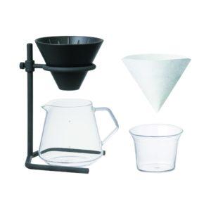 Kinto Slow Coffee Style Kahvinkeitin Musta