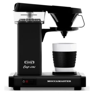 Moccamaster Cup One 0.33 L Matta Musta