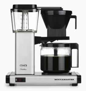 Moccamaster Kahvinkeitin HBG961AO 1.25 L Matta Musta