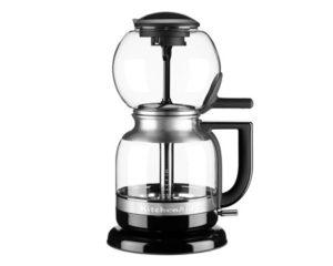 Artisan Vakuumi Kahvinkeitin kirkas/musta 1 l